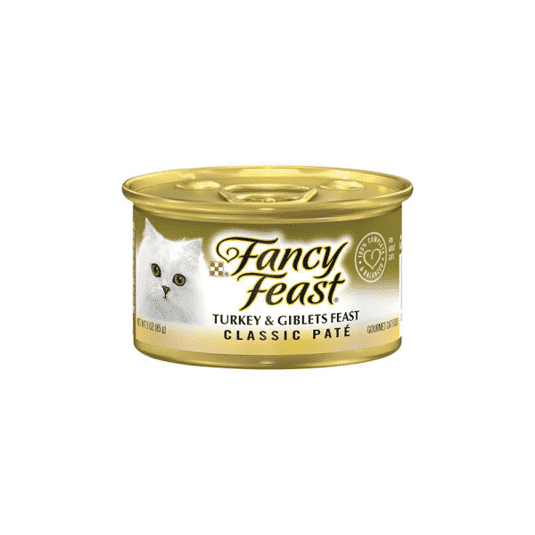 Fancy Feast with Turkey and Giblets