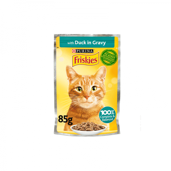 Friskies Chunks With Duck